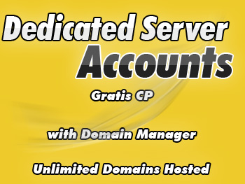 Cut-price dedicated servers hosting accounts